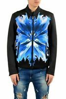 Just Cavalli Men's Multi-Color Full Zip Light Jacket US S IT 48