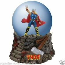 The Avengers The Mighty Thor Water Globe 100Mm Marvel Comics Brand New 22902