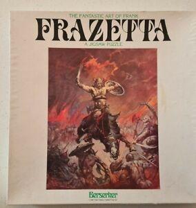 Frank Frazetta - Berserker. Jigsaw Puzzle. 551 pc. .U.S 1982. Complete.