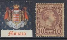 MONACO 1885  Yv n.4 cv 75$ unused