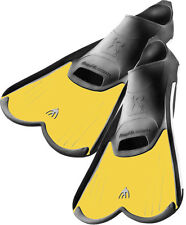 Cressi Light  Pool & Training  Closed Foot Fins, KIDS Yellow 12.5-13.5