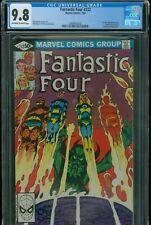 Fantastic Four 232 CGC 9.8 Near Mint/Mint 1st J Byrne Free Shipping!