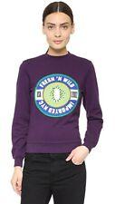 RARE $245 Opening Ceremony Purple Beet Fresh N Wild Imported NYC Sweatshirt L