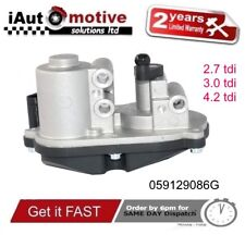 AUDI A4 A5 A6 A8 Q5 Q7 Collettore Di Aspirazione Flap Attuatore Motore VW Touareg 2.7 3.0TDI