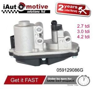 AUDI A4 A5 A6 A8 Q5 Q7 INTAKE MANIFOLD FLAP ACTUATOR MOTOR VW TOUAREG 2.7 3.0