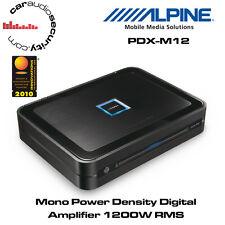 Alpine PDX-M12 - CLASS D MonoBlock Car Bass Amplifier 1200W RMS