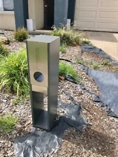 NEW LETTERBOX PILLAR MAIL BOX NICE LOOK LETTER BOX stand alone