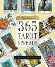 Llewellyn's 365 Tarot SPREADS by Sasha Graham USA SELLER Divination Oracle Zodia