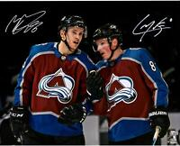 "Cale Makar & Mikko Rantanen Colorado Avalanche Signed 16"" x 20"" Spotlight Photo"