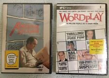Lot of 2 Dvds: American Splendor & Wordplay - Brand New - Free Shipping