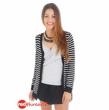 Cotton Medium Knit Striped Jumpers & Cardigans for Women