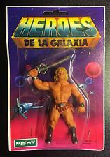 New Vintage ZARKAN Heroes De La Galaxia Figure He-Man Masters of the Universe KO