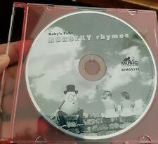 Baby's First Nursery Rhymes (disc only) MUSIC CD - FREE POST