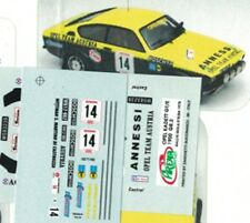 decal 1/43 OPEL KADETT GT/E 1.9 Gr.2 S.MARTINO CASTROZZA 1978 Arena D340