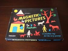 Spear's Magnetic Pictues VINTAGE Creative Toy Set - Spear's Games
