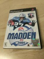 Madden NFL 2001 PlayStation 2 PS2 EA Sports