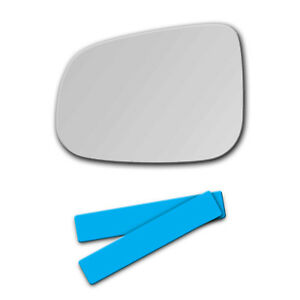 S-631L Replacement Mirror Glass for VOLVO S60 S80 V60 Driver Side View Left LH