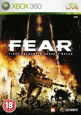 F.E.A.R FEAR Microsoft Xbox 360 Good Condition