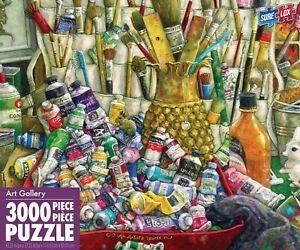 puzzle 3000 piece Sure-Lox Colossus an Artist's World Puzzle