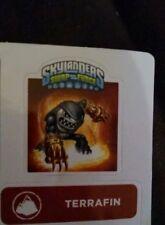Knockout Terrafin Skylanders Swap Force Sticker/Code Only!