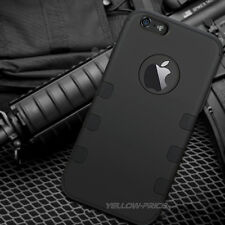 New For Apple iPhone 6 Plus Case 3 in 1 Hybrid Matte Shockproof Defender Cover