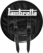 Copriruota wheel cover per lambretta vintage con tasca centrale porta documenti