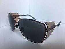 New PORSCHE DESIGN P 8600 P8600 D Bronze Blue Sunglasses