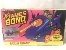 James Bond Jr S.C.U.M. Shark Scum Attack Motorcycle Vehicle OO7