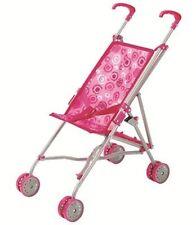 Little Belle Pink Girls Kids Toy Dolls Teddy Loop Stroller Pushchair *BRAND NEW*