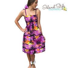 Rayon Floral Dresses Midi