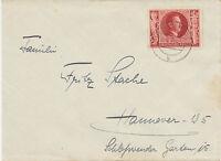"""DT.REICH 1943 Hitlers Geburtstag mit K2 """"LITZMANNSTADT 3"""" STEMPELFÄLSCHUNG, RRR!"""