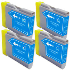 4 CYAN Replacement Ink for Brother LC51 AIO MFC 230C 240C 440CN 465CN 3360C