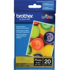 NEW Brother BP71GP20 Innobella 4x6 Glossy Premium Plus Photo Paper 20 Sheets
