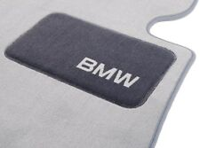 BMW OEM Gray Carpeted Floor Mats 2006-2011 E90 Sedans 325i 330i 335d 82112293525