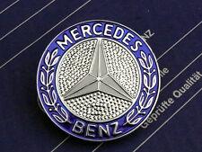 Genuine Mercedes hood emblem for R107 models 280/380/500/560SL and W126 560SEC