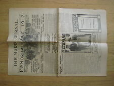 The Marin Journal May 24, 1917 old newspaper Memorial Day