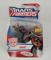 Hasbro Transformers Animated Deluxe SNARL Action Figure 2008 - Opened Box