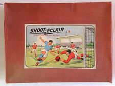 RARE ANCIEN COFFRET JEU SHOOT ECLAIR 1955 LE VERITABLE FOOT-BALL DE TABLE
