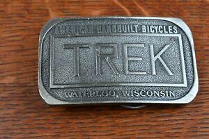 Vintage TREK Belt Buckle