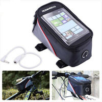 Fashion Roswheel Bike Cycle Frame Front Tube Touch Waterproof Mobile Phone Bag