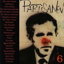 PARTISANEN 6 Sampler CD mit Farin Urlaub, Turbostaat, Toten Hosen (2003) Neu!