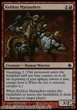 4x - (FOIL) - Predoni di Keld / Keldon Marauders - FIRE & LIGHTING ENG