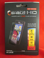 Zagg Invisible Shield HD for LG Lucid