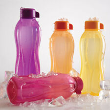 TUPPERWARE WATER BOTTLE AQUASAFE 1 LITRE (1000ml) Bottle - 1 Ltr -(4Pc)