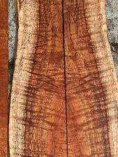 """Curly Koa From Hawaii Perfect For Fretboards/Inlay 18 Pieces 16-18""""x1-2""""x1/8 """""""