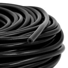 3m Silikon Unterdruck Schlauch 4mm ID Vacuum Steuer Leitung - Schwarz 3 Meter
