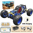 RC off-Road Racing car Buggy MOC Building Blocks APP Remote Control Vehicle Toy