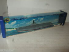 Minic Ships M751 by Hornby-Triang , HMS Bulwark with Glidewheels in 1:1200 Scale