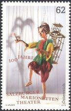 Austria 2013 marionetas/Teatro de Títeres// juega/Drama/música/Opera 1v (at1158)