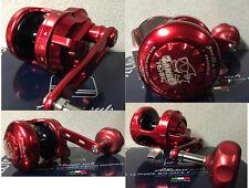 Mulinello Traina Alutecnos Albacore Modello New Gorilla 8 V Rosso